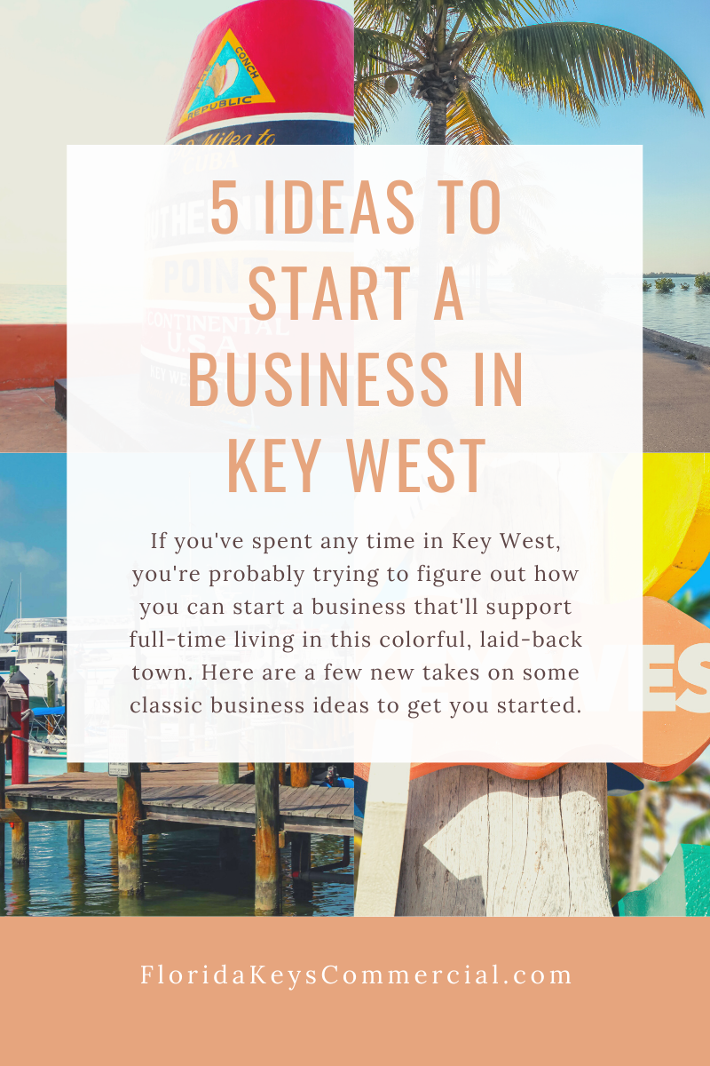 5 Ideas to Start a Business in Key West